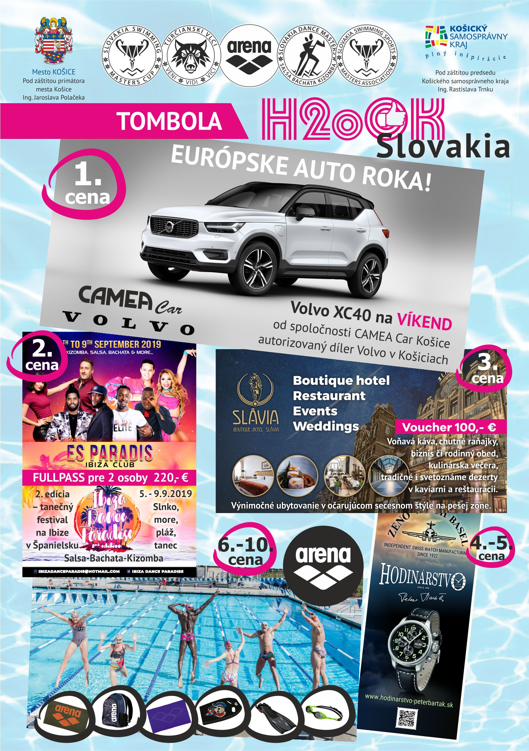1. H2oOK SLOVAKIA - Tombola